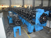 Line for round drainpipe system production