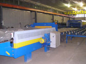 Line for producing «Sandwich» type panels