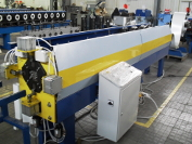 Line for square drainpipe system production